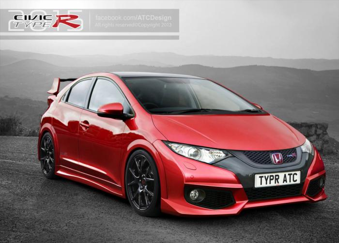 Formerly The Honda Portal 2015 Honda Civic Type R Rendered