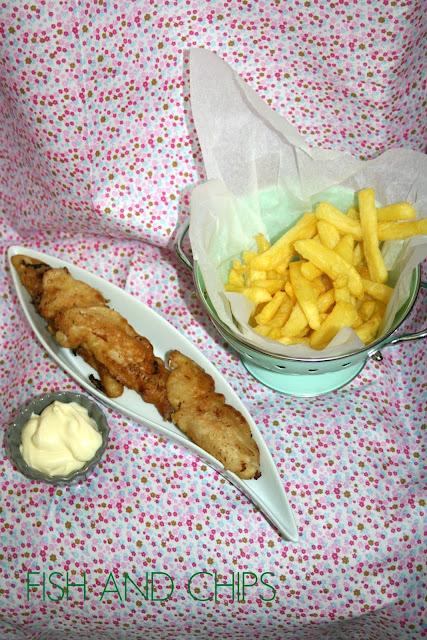 fish and chips, pescado frito,pescado rebozado