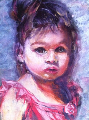 March inspiration comes to you from Australian portrait artist Julia Sattout.