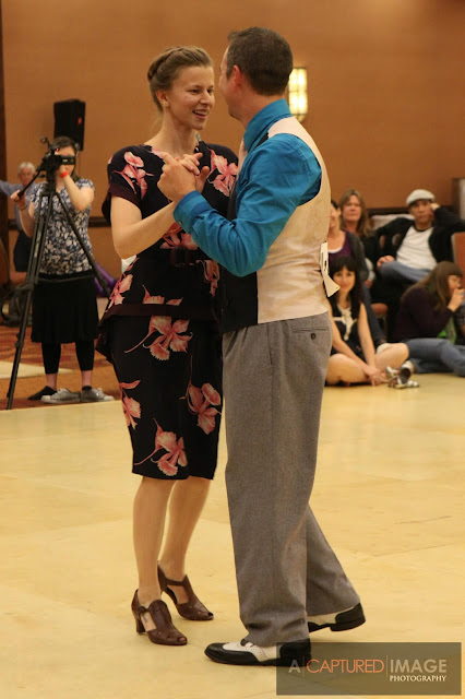 competition in vintage dance