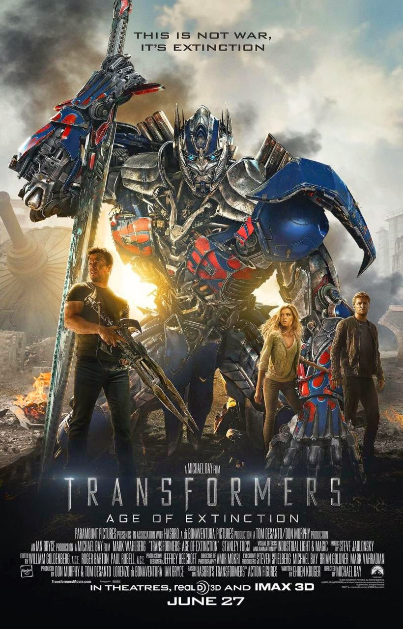 Transformers: Age of Extinction Wallpaper Poster