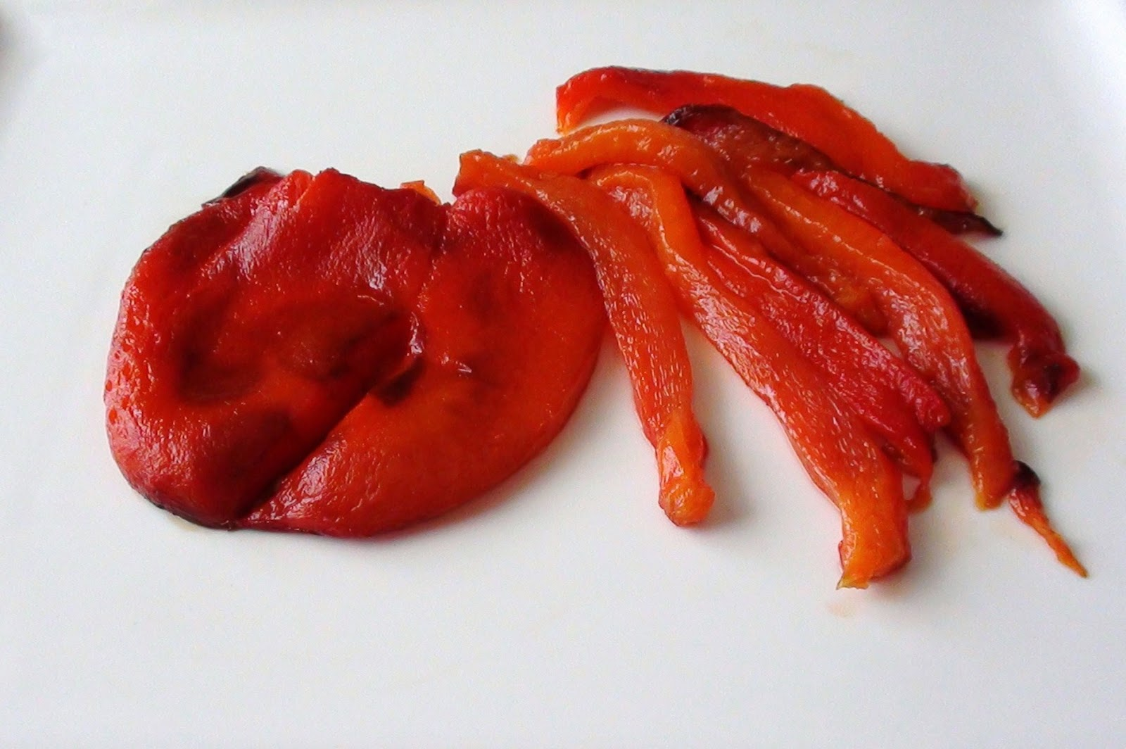 Roasted Peppers Recipe — Dishmaps