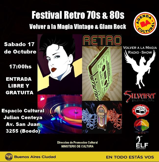 Festival Retro 70s & 80s Vintage & Glam
