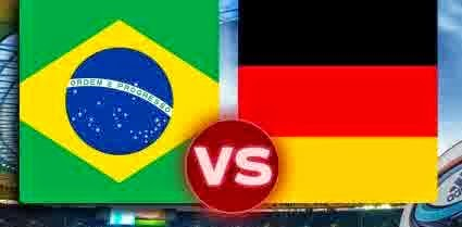 Perkiraan Skor Semi-Final World Cup 2014 : Brasil vs Jerman