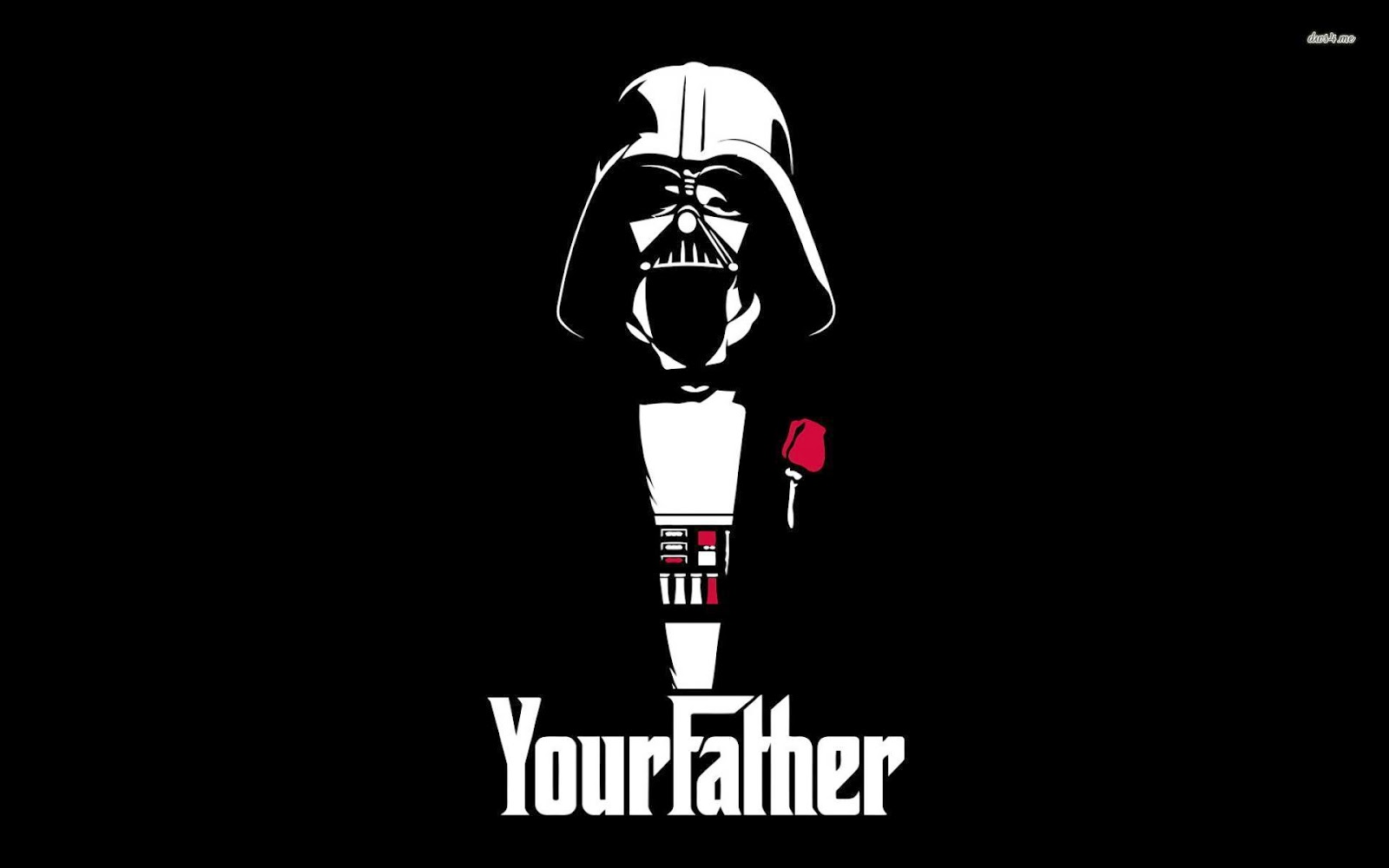 The Godfather Lord Vader Starwars Crossover