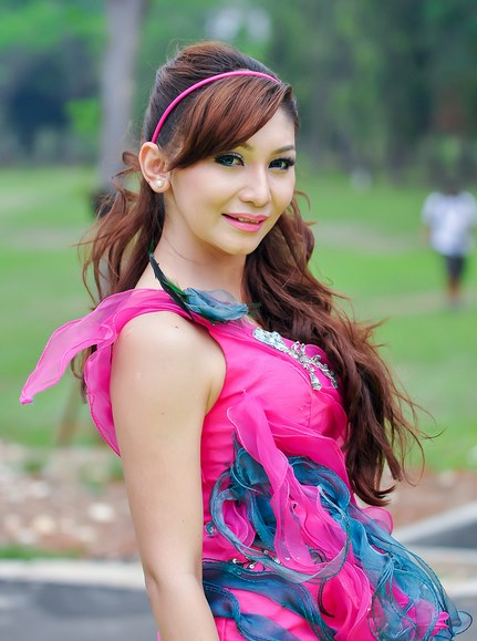 Indonesia Famous Model Talent, Baby Margaretha beuty