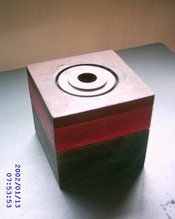 Inventos Disposição aplicada para velas