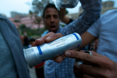 Some Info about the Egyptian tear gas