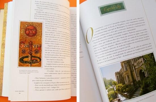 O Símbolo Perdido * Dan Brown - Detalhe da Edição Especial Ilustrada