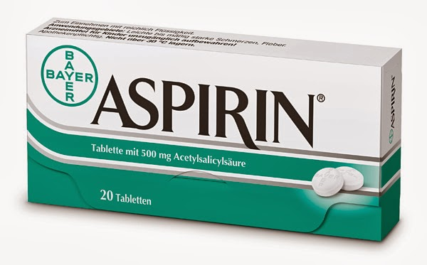 The aspirin reduces the risk of heart attack