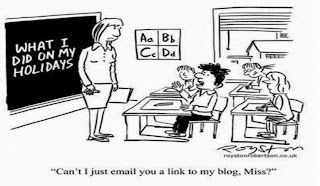 can i just email you a link to my blog?