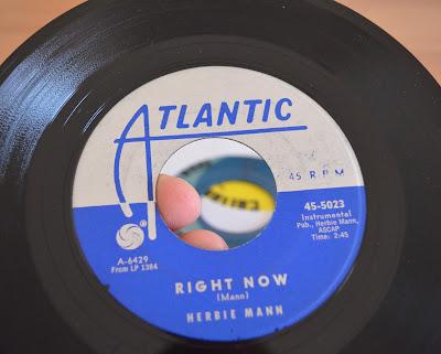 Herbie Mann - Right Now / Borquinho 1962 (Atlantic)