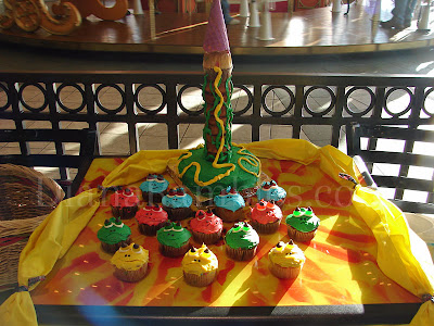 tangled tower cake birthday