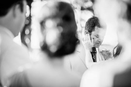 Ryan and Leslie, Vows, McGowan Images, Texas Ranch Wedding, Groom,