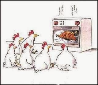 gambar kartun ayam lucu