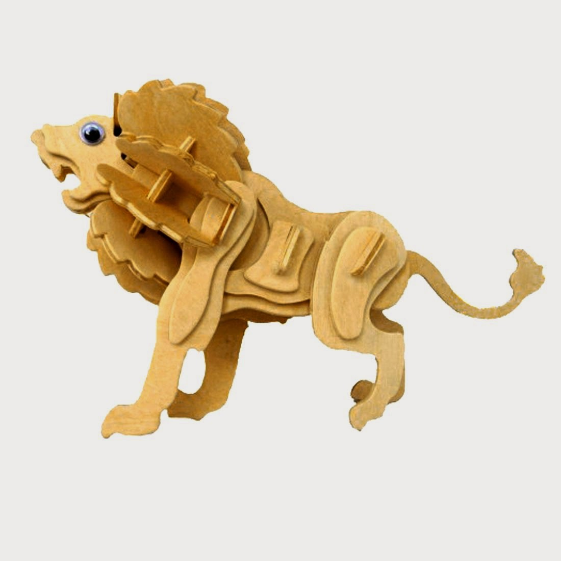 3d Animal Puzzle Wood Craft Art Gift Ideas