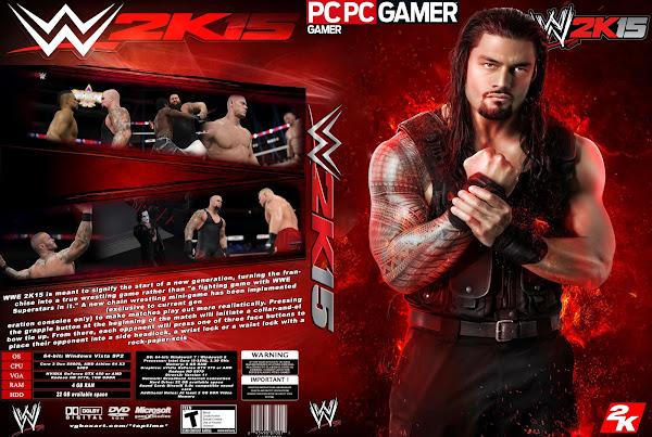 Capa WWE 2K 15 PC