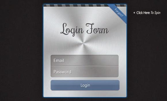 Apple-like Login Form