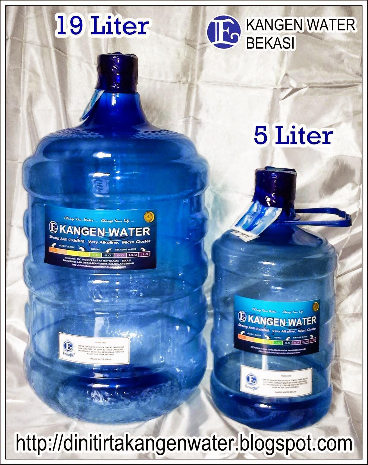 harga air kangen water 19 liter