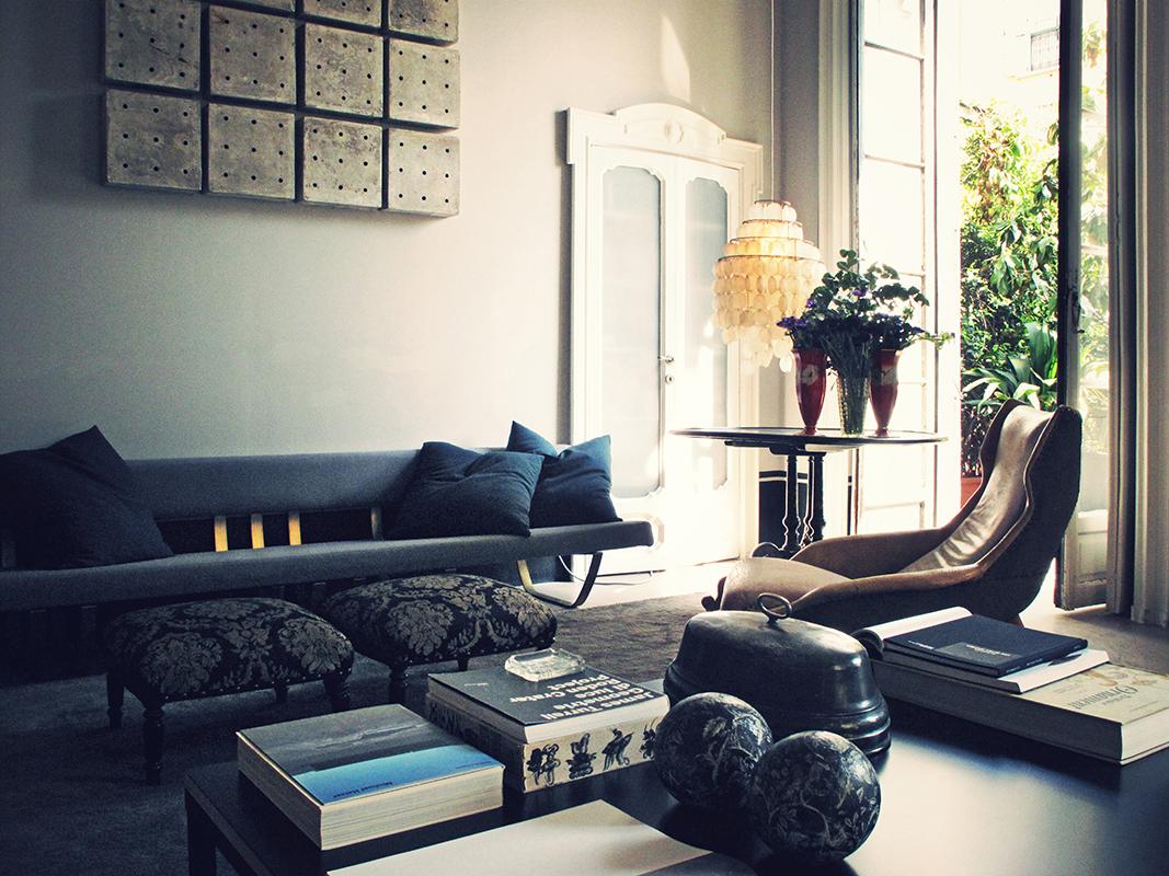 Die wohngalerie: dimore studio arbeitet gerne in taubenblau