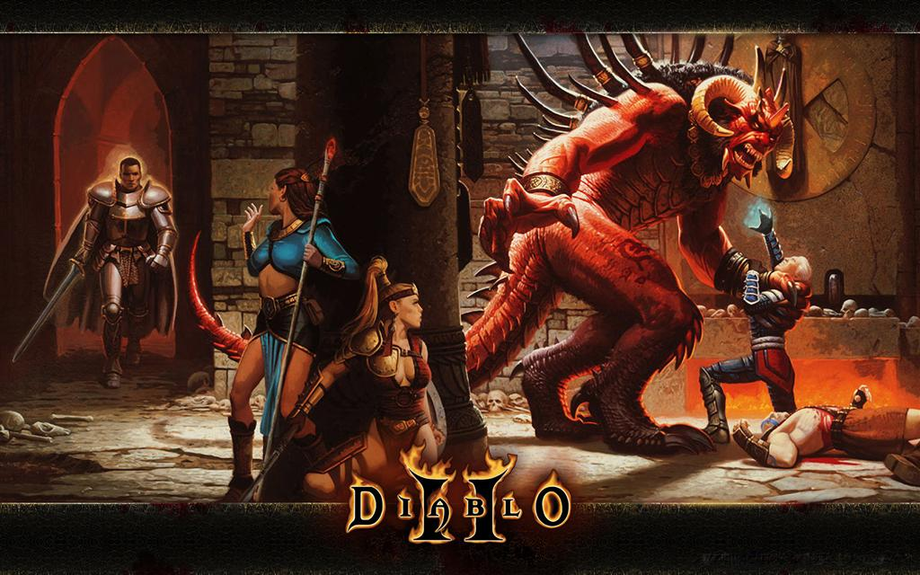 Diablo HD & Widescreen Wallpaper 0.56674571510656