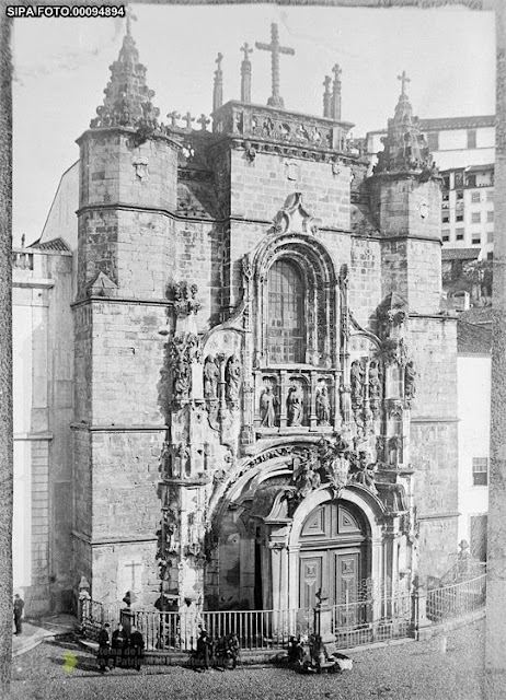 Fotografía antigua Santa Cruz Coimbra