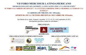 VII FORO MERCOSUR LATINOAMERICANO