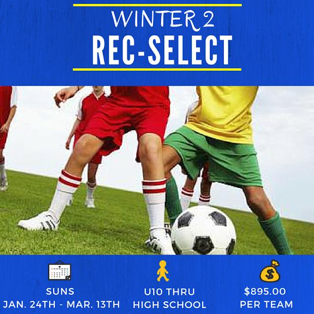 Rec-Select Soccer