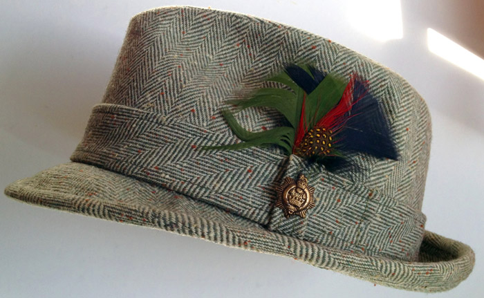 Pendleton tweed hat