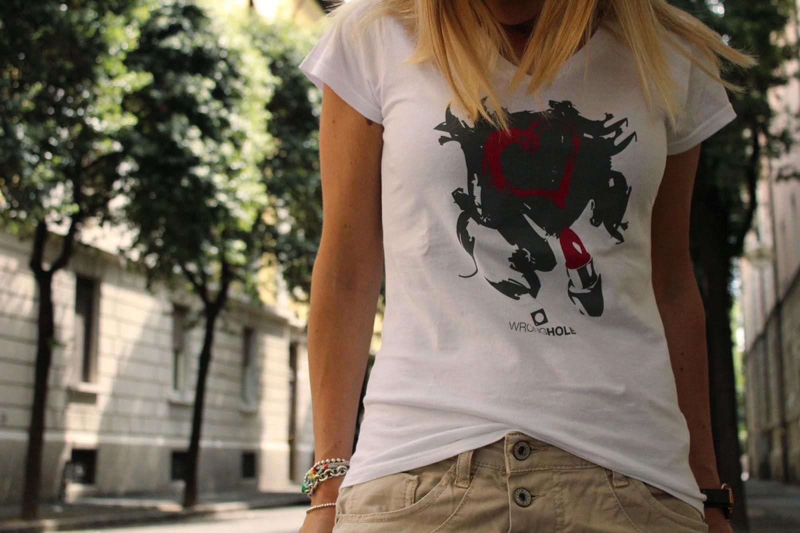 Eniwhere Fashion - Tshirt Wronghole and LuxBag