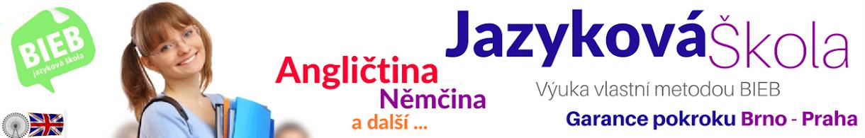 Výuka angličtiny | němčiny - Brno, Praha, Olomouc, Jazyky BIEB.