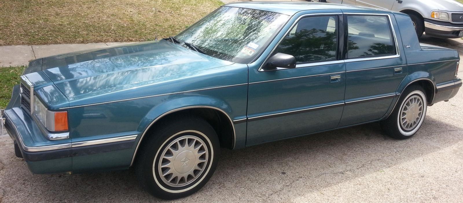 Car spotlight dodge dynasty 1988 1993