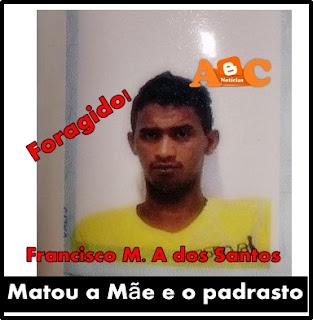 Veja foto do jovem que matou a mãe e o padrasto em Chapadinha, ele está Foragido!