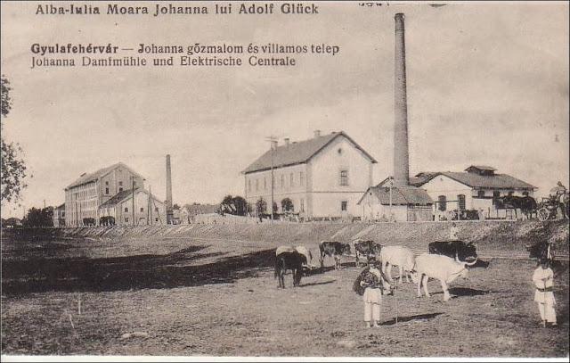 Moara Johanna din Alba Iulia veche