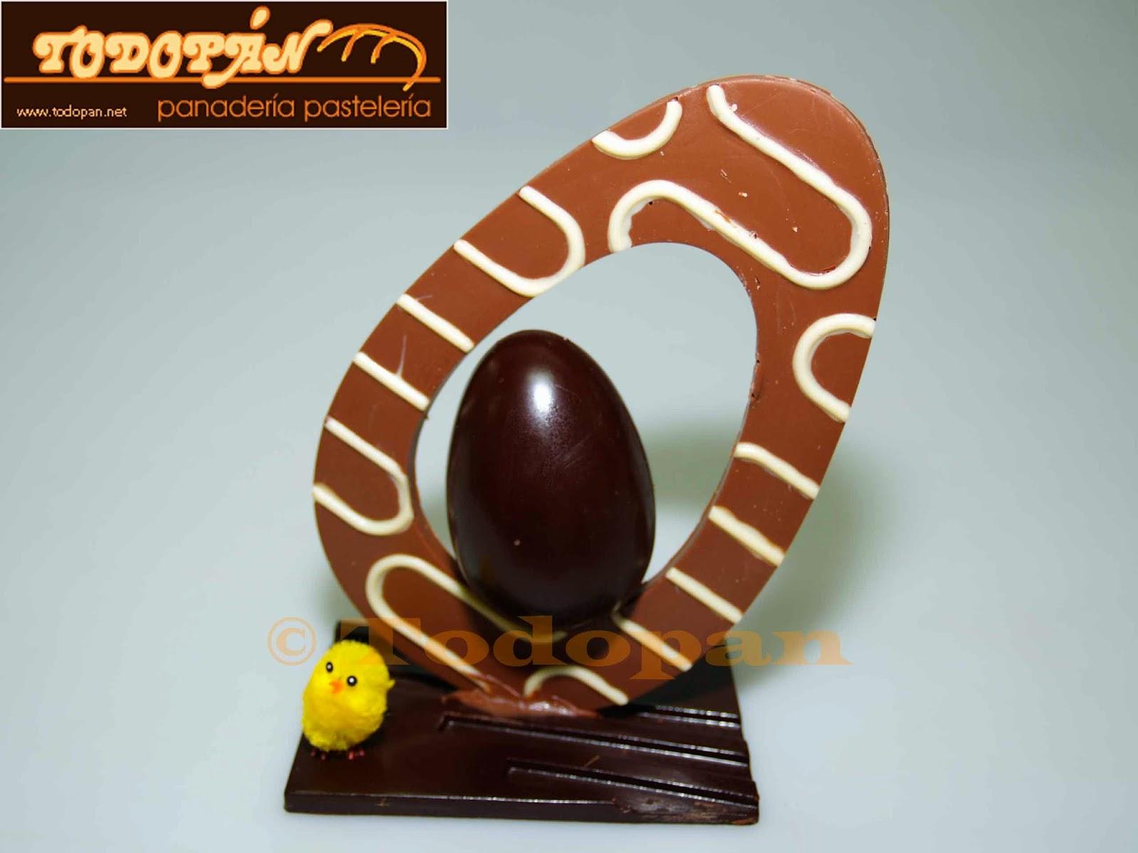 huevo de pascua chocolate