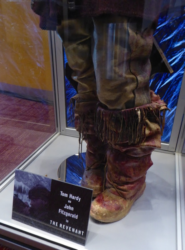 John Fitzgerald costume boots The Revenant