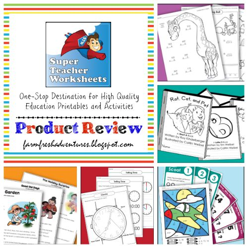 Farm Fresh Adventures: Super Teacher Worksheets: One Stop ...