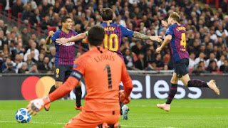 Champions League: Barcelona becomes first team to qualify for Round of 16