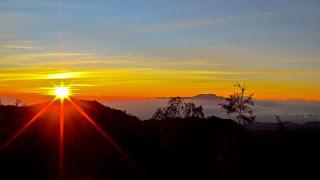 Sunset Bromo