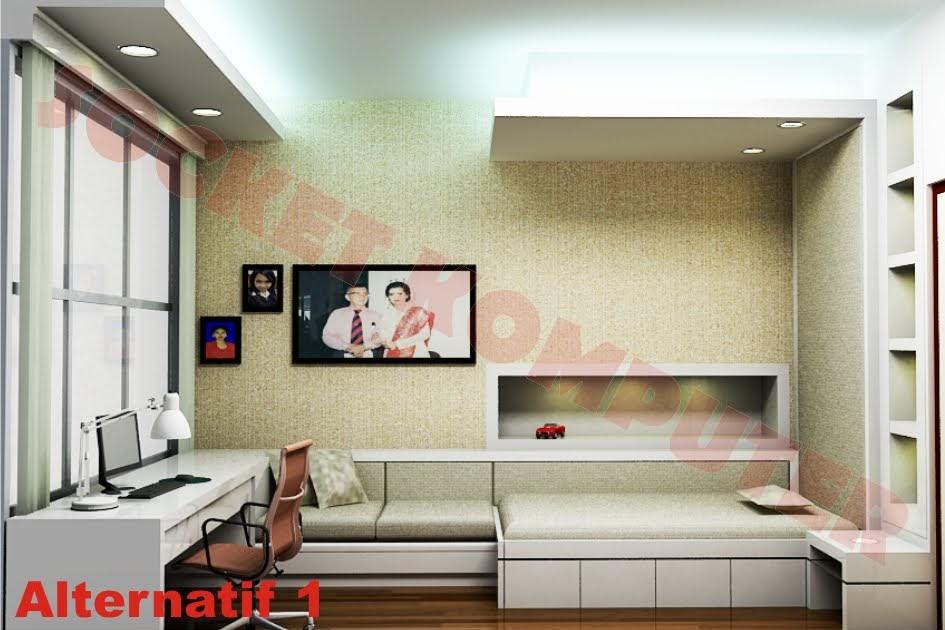 perancangan interior desain kamar anak