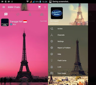 application to the topic of this script has been acquaint inward the modification undergone a  Download Mod BBM Themes Eiffel Tower V2.9.0.51 Apk