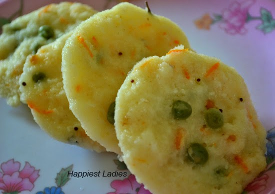 Rava Idli  ( South Indian Breakfast)