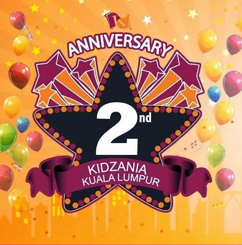 Sambutan Ulangtahun kedua KidZania.