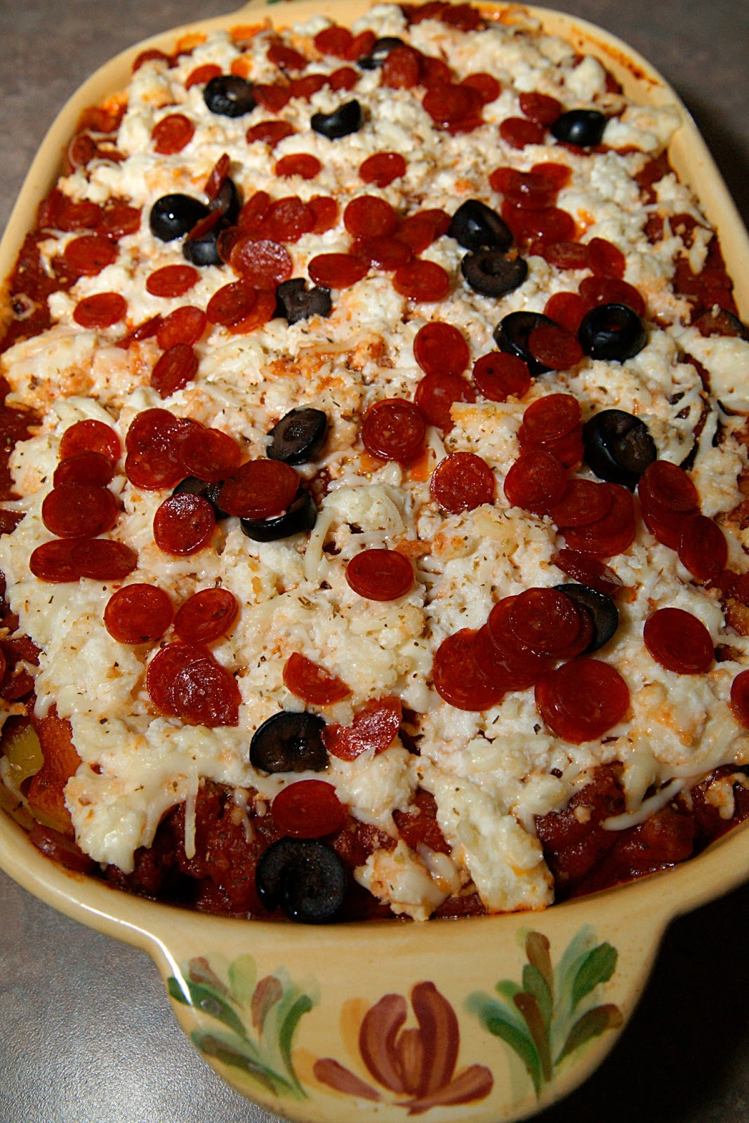 Savory Sweet and Satisfying: Pepperoni Pizza Casserole