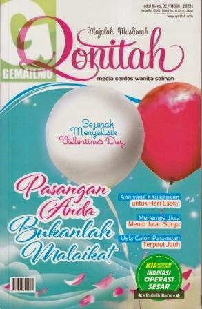 Majalah Muslimah Qonitah Edisi 19 vol 02 1435H-2015M