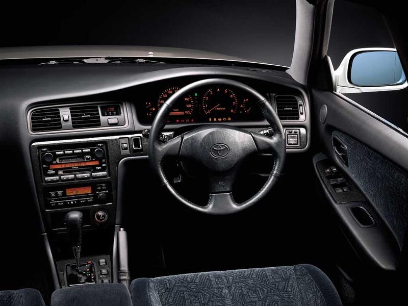 Toyota Chaser X100, 1JZ, JZX100, driftowóz, tuning, RWD, zdjęcia, 日本車, チューニングカー, ドリフト走行, トヨタ チェイサー, wnętrze, interior, środek