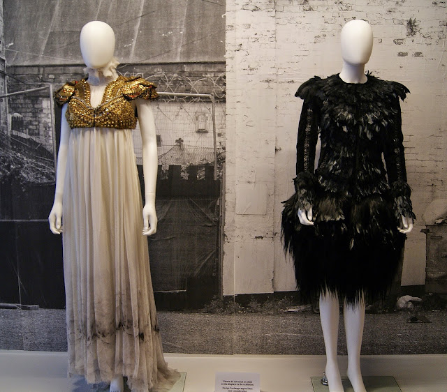 Politics of Fashion/Fashion of Politics Exhibit at Design Exchange in Toronto, Culture, jeanne beker, jeremy laing, clothing, exhibition, history, the purple scarf, melanie.ps, ontario, canada, art, designers, canadian, alexander McQueen