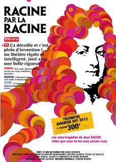 Racine par la racine, de Serge Bourhis -- Festival d'Avignon Off --