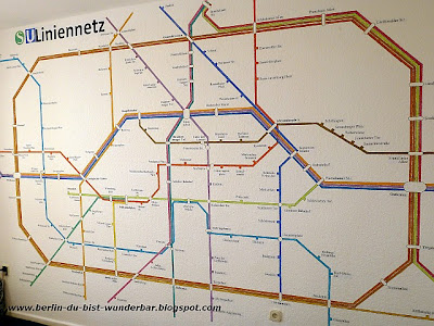 Berlin, Liniennetz, S-bahn, U-Bahn
