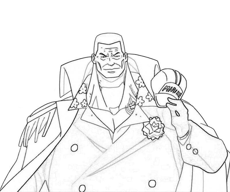 one-piece-akainu-smirk-coloring-pages